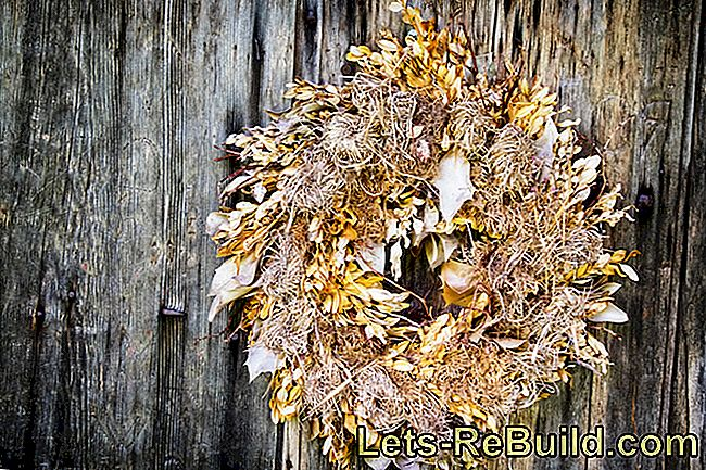Dispose of Christmas wreath - what do you have to pay attention to?