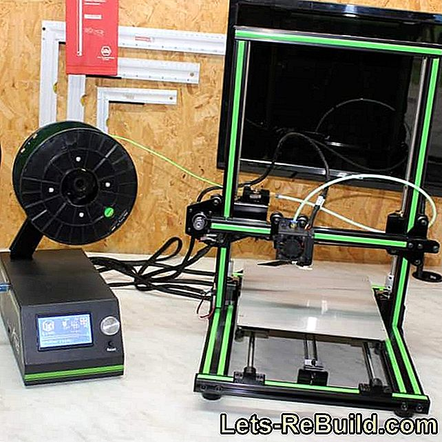 ANET E10 - new 3D printer under test: test