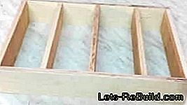 Build cutlery box yourself - construction manual: construction