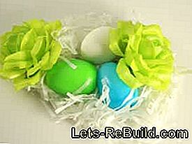 Make Easter baskets: paper
