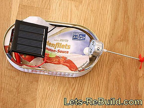 Build electric boat and solar boat yourself - construction manual for children: solar