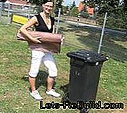 Build garbage bin cover yourself - construction manual for a garbage bin cover - barrel stocking: yourself