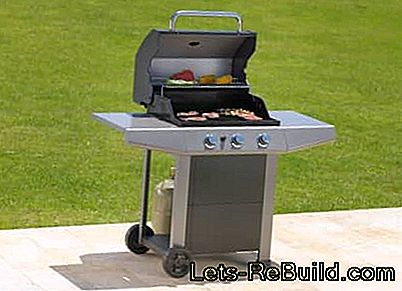 Gas Grill - Barbecue met gas op gasbarbecues: grill