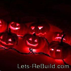 Make Halloween lanterns yourself: lanterns