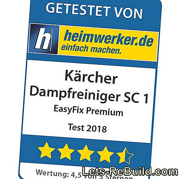 Steam Cleaner Test: Kärcher SC 1 EasyFix Premium: cleaner