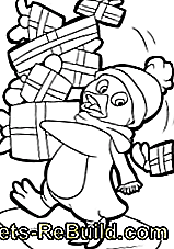 Coloring pages for Christmas and Advent: coloring