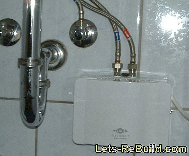 Instantaneous Water Heater In The Bathroom: What You Have To Pay Attention To