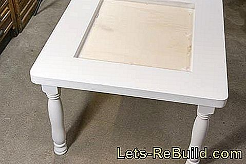 Instructions: Build your own table in Chabby-Chic: build