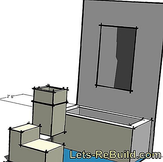 Build bathroom furniture yourself: German