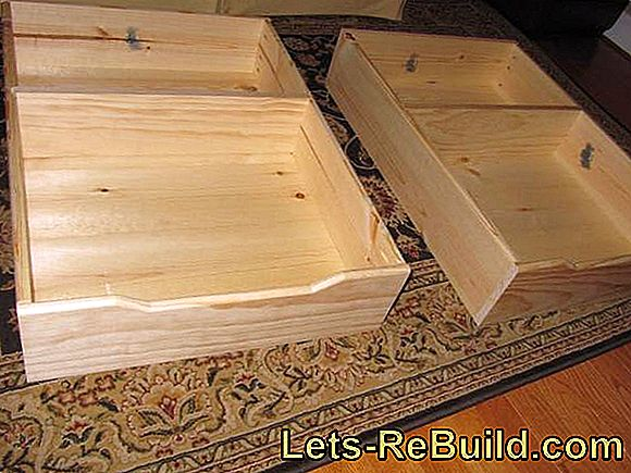 Build the bed box yourself - construction manual: construction