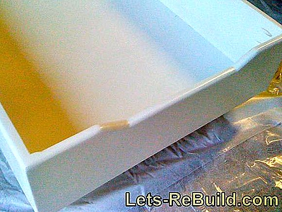 Build the bed box yourself - construction manual: board
