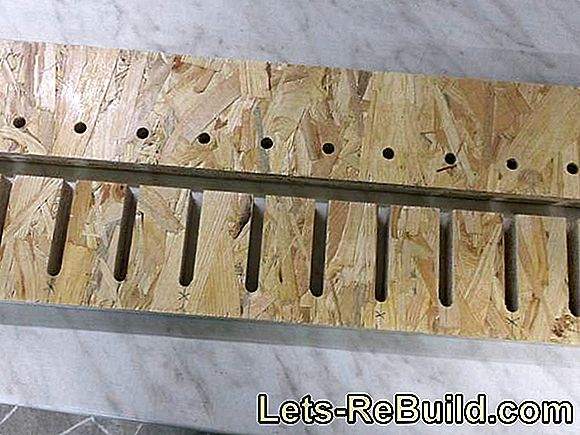 Construction manual for a clamp clamp made of OSB: clamps