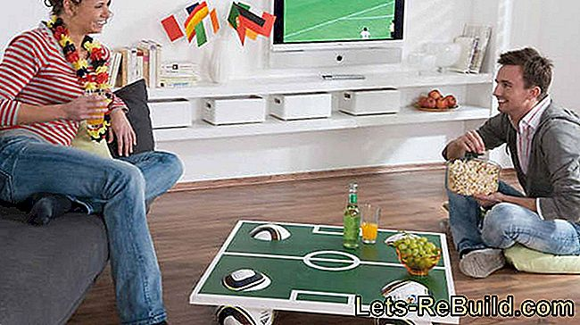 Football Coffee Table: football