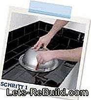 Kitchen modernization - installation of a vegetable washbasin: vegetable