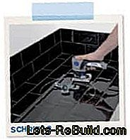 Kitchen modernization - installation of a vegetable washbasin: installation