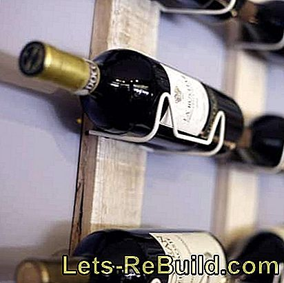 Build a wine rack yourself: rack