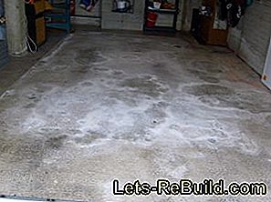Renovate garage floor - quickly and easily with loose-laying vinyl tiles: floor