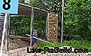 Carport with privacy screen - construction manual: carport