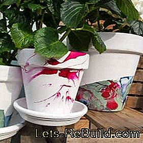 Create flowerpots yourself: pots