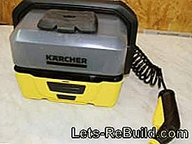 The Kärcher Mobile Outdoor Cleaner OC 3 (low-pressure cleaner) in: mobile