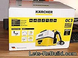 The Kärcher Mobile Outdoor Cleaner OC 3 (low-pressure cleaner) in: Kärcher
