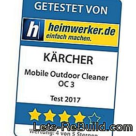 The Kärcher Mobile Outdoor Cleaner OC 3 (low-pressure cleaner) in: outdoor
