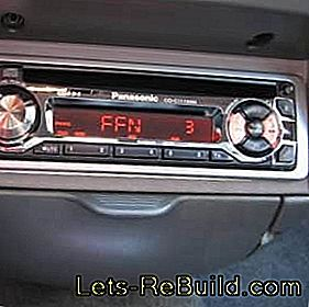 Installing handsfree and car radio - car radio installation third-party manufacturers: handsfree