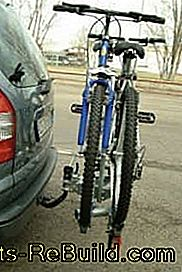 Stiftung Warentest and ADAC: Bike Carrier in Test 2011: bike