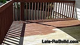 Build wooden terrace yourself - construction manual for wooden terraces: terrace