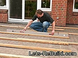 Build wooden terrace yourself - construction manual for wooden terraces: yourself