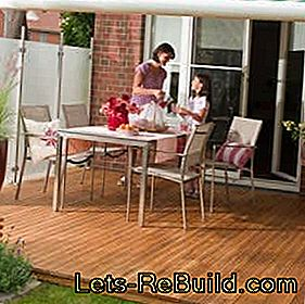 Build wooden terrace yourself - construction manual for wooden terraces: wooden
