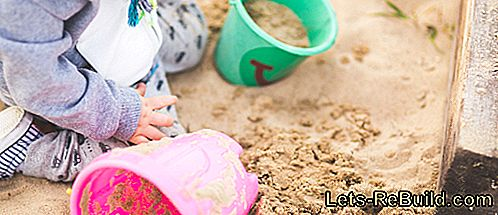 Sandbox met kind