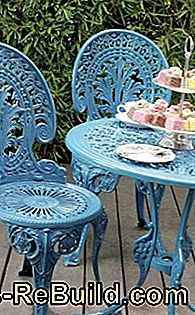 Maintain and renovate metal garden furniture