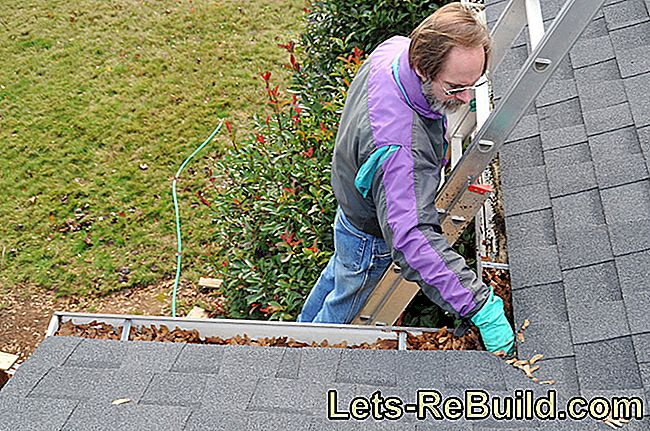 What costs are incurred for the gutter cleaning?