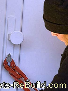 Burglary protection for the house and apartment: house