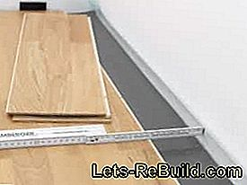 Laying finished parquet - product information and instructions: product