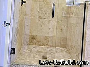 Install floor-level shower - plan and implement correctly: plan