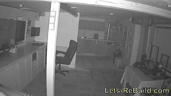IP camera test: HiKam in outdoor and indoor: indoor