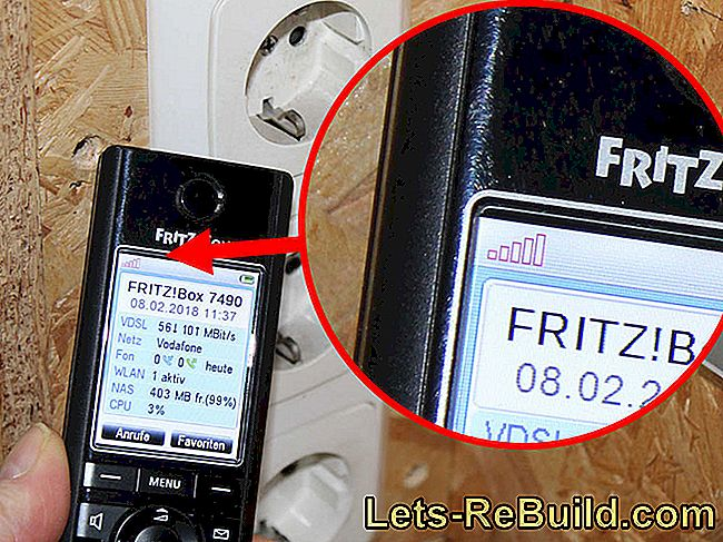 Powerline adapter test: FRITZ! Powerline 1260E WLAN Set and FRITZ! DECT Repeater 100: 1260e