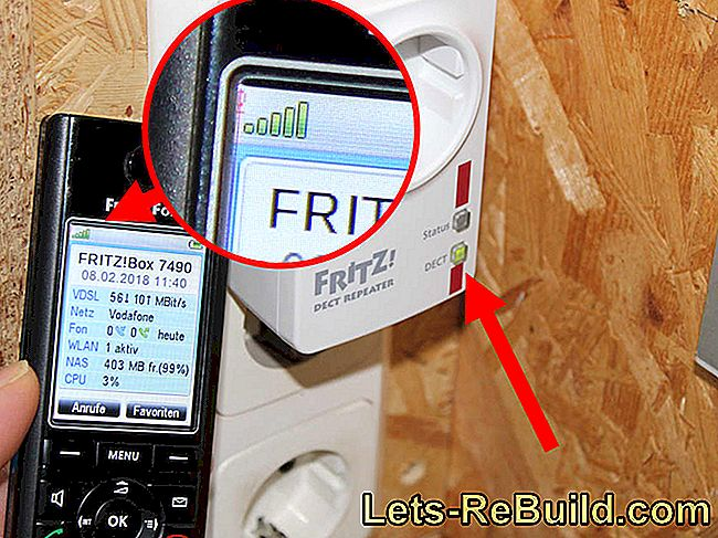 Powerline adapter test: FRITZ! Powerline 1260E WLAN Set and FRITZ! DECT Repeater 100: fritz