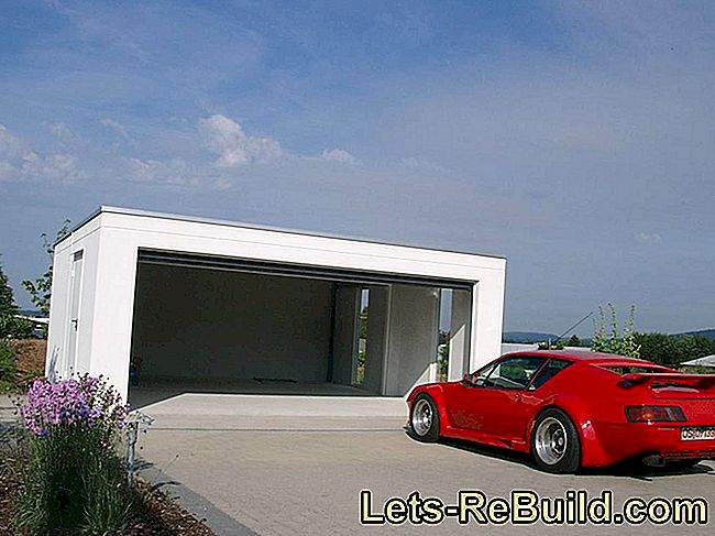 Build prefabricated garages yourself - luxury for small prices: prefabricated