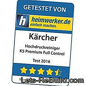 Product test: Kärcher high pressure cleaner K5 Premium: Kärcher