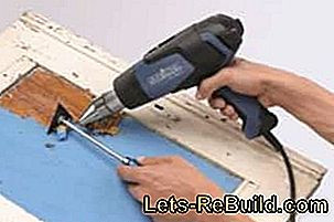 Brushing instructions: Remove paint with paint stripper: brushing