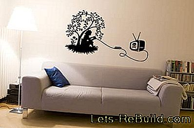 Wallpaper stickers and wall stickers: wallpaper