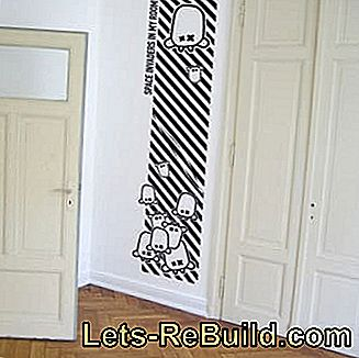 Wallpaper stickers and wall stickers: sticker