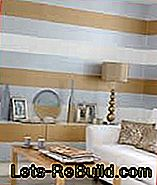 Wall colors and colors: emulsion paint, textured paint, latex paint, glaze: textured