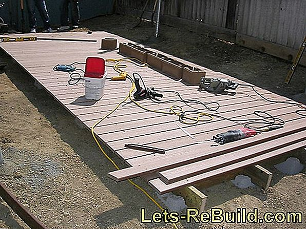 Laying Wpc Decking - Instruktioner I 4 Trin