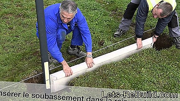 Installer et fundament senere