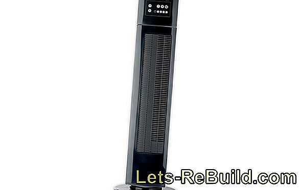 Rowenta VU 6520 Tower fan Eole Crystal im
