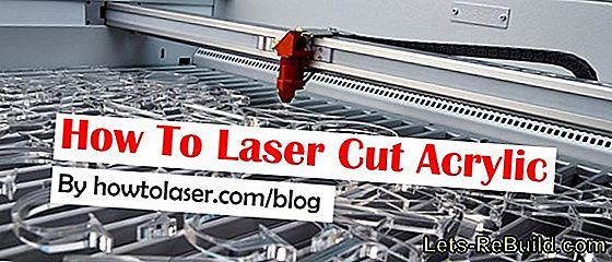 Acrylic glass lasers: how does that work?